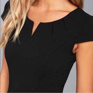 NWT Lulu's black jumpsuit